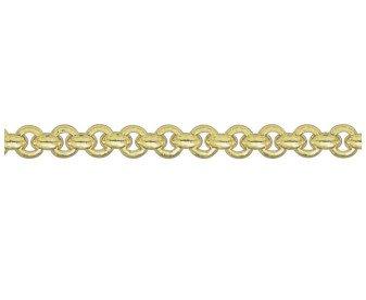 18ct Gold Round Belcher Bracelet